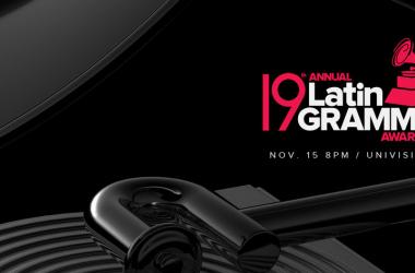 Cartel publicitario de la decimonovena edición de los Latin Grammy Awards (Fuente: Facebook oficial de Latin Grammy)