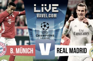 Resultado y goles Bayern Múnich 1-2 Real Madrid en Champions League 2017