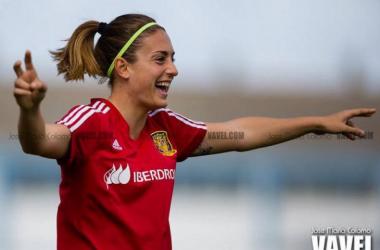 Imagen de Alexia Putellas con la Selección española   Foto: VAVEL