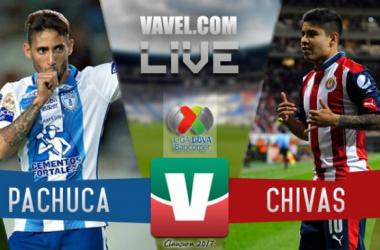 Resultado del Pachuca 0-0 Chivas de la Liga MX 2017