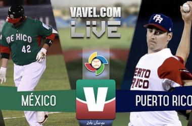 Resultado y carreras del México 4-9 Puerto Rico del Clásico Mundial de Béisbol 2017