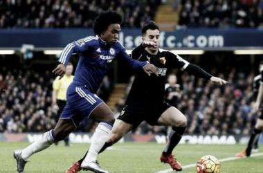 Chelsea - Watford Post-match news: Costa hits back