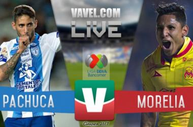 Resultado del Pachuca 0-0 Monarcas Morelia de la Liga MX 2017