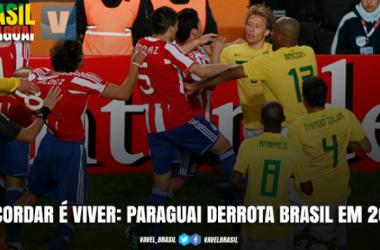 Recordar é viver: Paraguai elimina Brasil na Copa América 2011