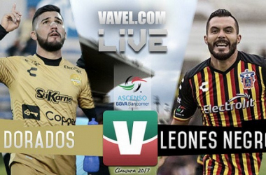 Resultado y goles del Dorados (2-1)Leones Negros