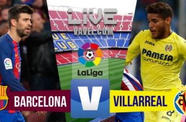 FC Barcelona - Villarreal en directo. Fotomontaje: Anxo Rei