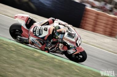 Luca Marini durante el Gran Premio de España | FOTO: Lucas ADSC (VAVEL España)