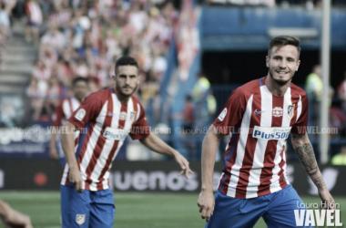 """Saúl: """"Si Diego Costa viene al Atlético, será bien recibido"""""""