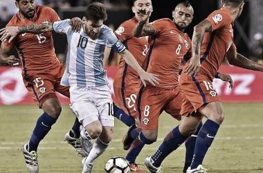 Jogo Argentina x Chile AO VIVO online pela Copa América 2019(2-1)
