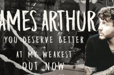 """James Arthur publica dos nuevas canciones: """"YouDeserve Better"""" y """"At My Weakest""""   Foto: Facebook Oficial de James Arthur"""