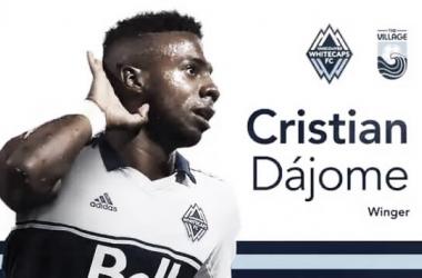 Whitecaps FC firma a Cristian Dájome