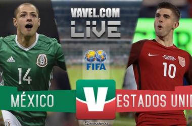 Resultado y Goles del partido México 1-1 Estados Unidos