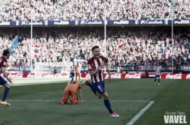 """Saúl: """"Me quiero quedar en el Atlético de Madrid"""""""