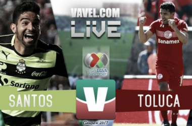 Santos vs Toluca igualan en Torreón y se volverán a ver en liguilla