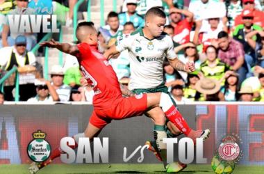 Previa: Santos - Toluca: En busca de la semifinal.