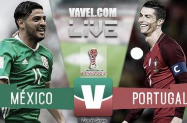 Resultado y goles del México 2-2 Portugal de la Copa Confederaciones 2017