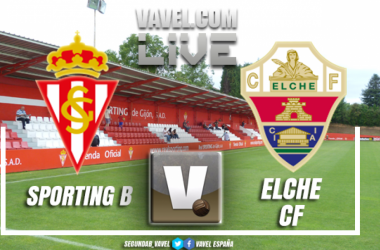 Sporting B - Elche en vivo y en directo online VAVEL playoffs 2018