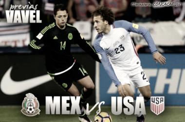 México vs Estados Unidos: la previa, horario y alineaciones