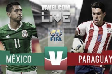 Con un primer tiempo atractivo, México se impone 2 a 1 sobre Paraguay