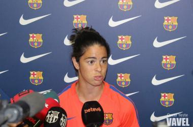 Marta, en imagen de este jueves por la mañana | Foto: Oscar Yeste