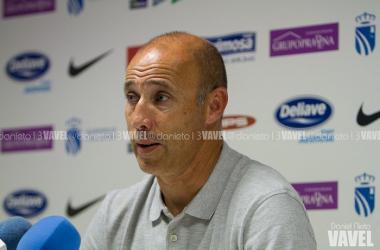 """Antonio Calderón: """"El futuro del Fuenlabrada es brillante"""""""