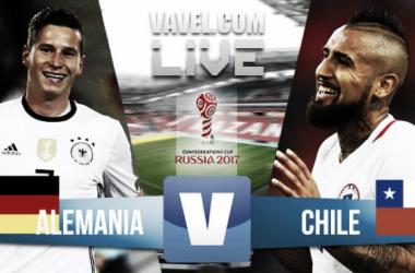 Resumen Alemania 1-1 Chile en Copa Confederaciones 2017