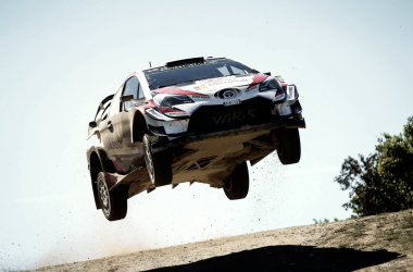 Esapekka Lappi en el Rallye de Cerdeña | Foto: Toyota Gazoo Racing