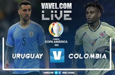 Resumen Uruguay vs Colombia por la Copa América