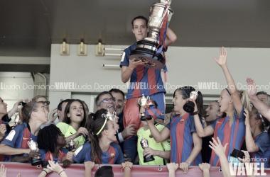 Las azulgranas, vigentes campeonas de la competición | Foto de Lucía Damiano, VAVEL