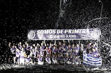 Fotografía del Ascenso a Primera División: Real Valladolid