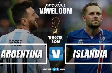 Previa Argentina vs Islandia: comienza el sueño