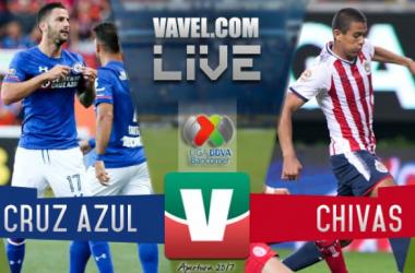 Resultado y goles del Cruz Azul 1-1 Chivas de la Liga MX 2017
