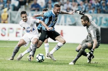 Grêmio e Santos empatam na Arena e Tricolor gaúcho permanece na vice-liderança