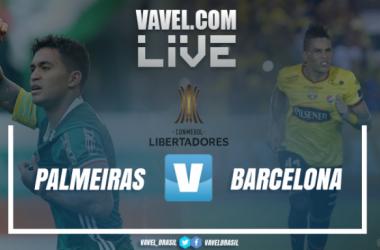 Minuto a minuto en vivo del partido entre Palmeiras y Barcelona SC. Imagen: Fotomontaje VAVEL