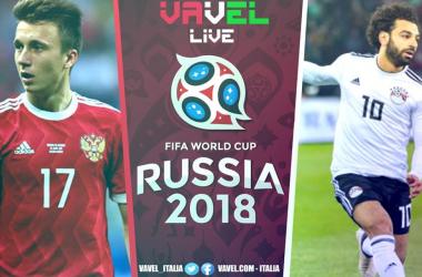 Russia - Egitto in diretta, Mondiali Russia 2018 LIVE (3-1): Russia agli ottavi, delusione Egitto!