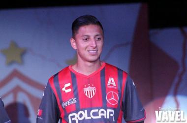 Roberto Alvarado, ansioso de debutar con Necaxa