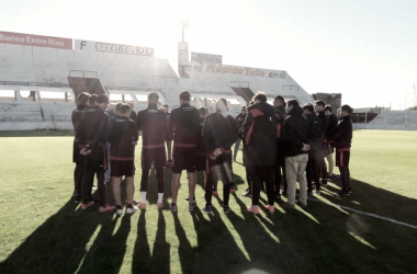 El elenco paranaense se cruzará el sábado 14 de julio ante Colón para seguir ganando ritmo de cara al torneo. Foto: Prensa C.A.P.