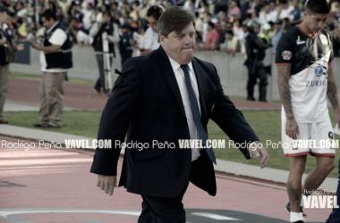 Herrera ha tenido buenos dividendos dirigiendo en el estadio de la Ciudad de los Deportes | Foto: Rodrigo Peña / VAVEL