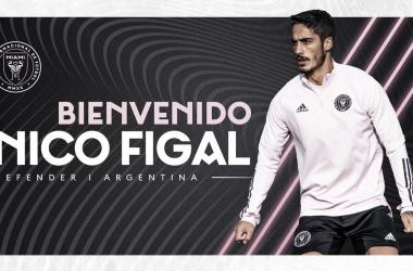 Nicolás Figal ficha por Inter Miami CF