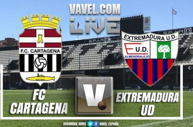 Cartagena vs Extremadura en vivo y en directo online en Playoffs de ascenso a Segunda División 2018 (0-1)