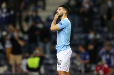 The fairytale swan song was not to be for Sergio Agüero | Photo: UEFA