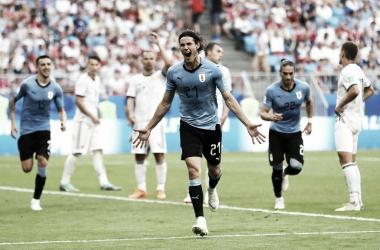 L'Uruguay prend la première place du groupe A