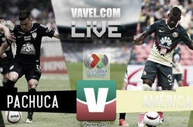 Resultado y goles del Pachuca 0-2 América de la Liga MX 2017