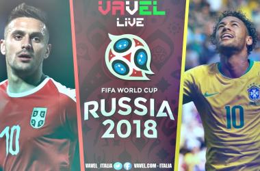 Terminata Serbia-Brasile, LIVE Mondiali Russia 2018 (0-2): Vince la Seleçao e stacca il pass per gli ottavi!