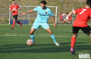 El juvenil de segundo año Abel Ruíz fue el autor del gol del empate final | Foto de pretemporada: Noelia Déniz - VAVEL