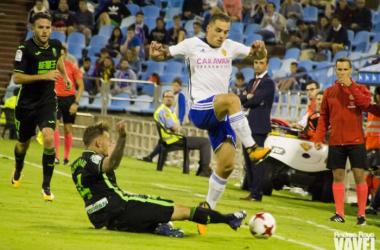 Zaragoza - Granada CF: puntuaciones del Granada, Segunda Ronda Copa del Rey