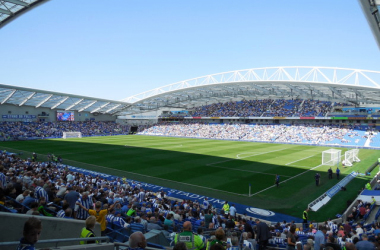 Brighton & Hove Albion 1-2 Tottenham Hotspur: Nervy Lilywhites end losing run to get back on track