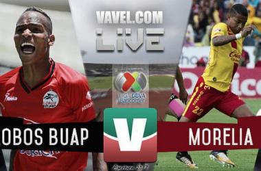 Resultado y goles del Lobos BUAP 1-3 Monarcas Morelia de la Liga MX 2017