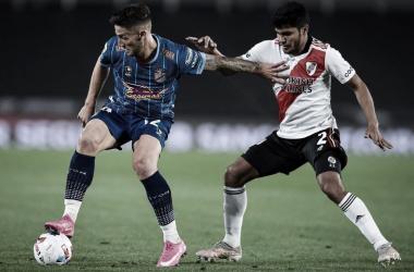 Fecha 12°- River Plate 1 (Méndez EC)- Arsenal 0- Liga Profesional de Fútbol