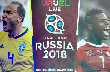 Terminata Svezia - Svizzera, LIVE Mondiali Russia 2018 (1-0): Scandinavi ai quarti!
